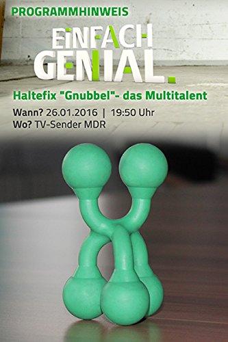 duschschutz gips Mr. Flint Unisex– Erwachsene Gnubbel 3/2 GN Befestigungssystem, grün, 91mm