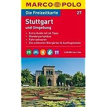 MARCO POLO Freizeitkarte Stuttgart und Umgebung 1:100.000