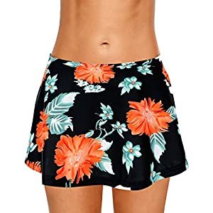 Dolamen Donna Pantaloni da Nuoto Gonna, 2018 Costumi da Bagno Donna Pantaloncini Bikini Costume Intero Moda da Bagno… 7 spesavip