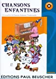 Partition : Chansons enfantines 16 titres + CD