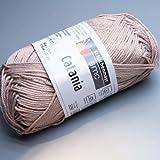 Schachenmayr Catania, 257 bast-beige, 50g Knäuel, 100% Baumwolle, stricken