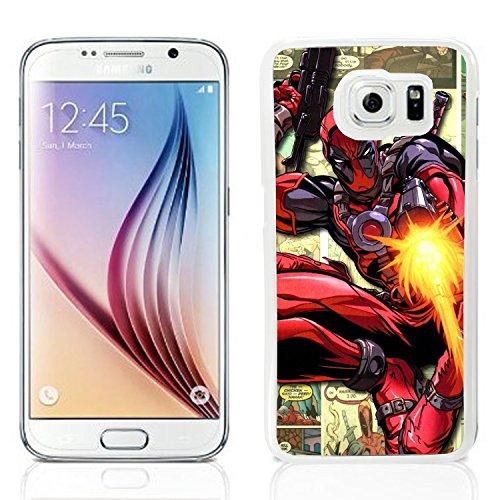 Deadpool Schutzhülle für Samsung Galaxy S6Cover Hard Schutz Film (3) Handy sm-g920 Monkey Telefon