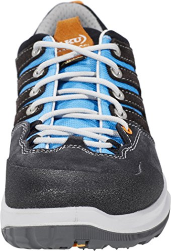 AKU MONTERA LOW GTX W'S - SCARPA DONNA TREKKING / MULTITERRAIN - COL. DARK GREY / LIGHT BLUE Grigio