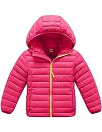 ZOEREA Chaqueta de pluma para niño abrigos niña chaquetas niño invierno aligerado packable