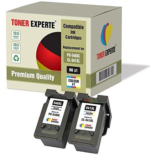 2 XL TONER EXPERTE PG-540XL CL-541XL Druckerpatronen kompatibel für Canon Pixma MG2150 MG2250...