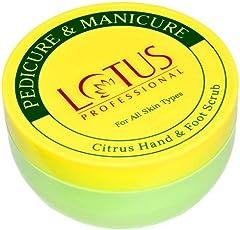 Lotus Professional Pedicure & Manicure Citrus Hand&Foot Scrub,300gm