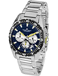 Jacques Lemans Herren-Armbanduhr 1-1801M