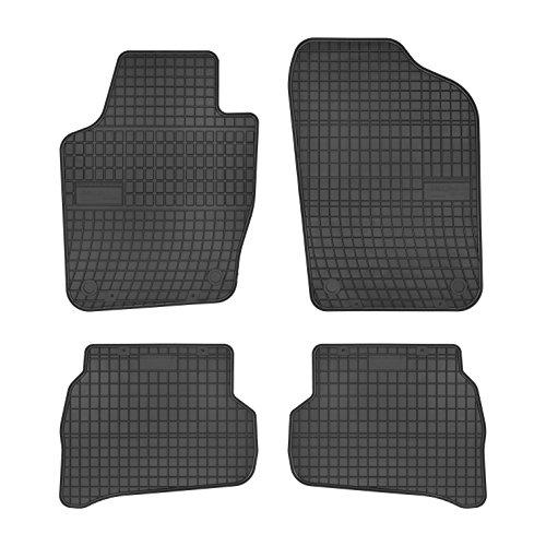 Preisvergleich Produktbild Preisprofessor 0394 Gummi Auto Fußmatten exakter Passform 4-teilig