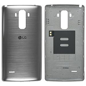 Original LG Akkudeckel titan für LG G4 STYLUS H635 (Akkufachdeckel, Batterieabdeckung, Rückseite, Back-Cover) - ACQ87959405