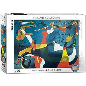 """Eurographics """"Joan Miró Hirondelle Amour Puzzle (1000 Piezas"""