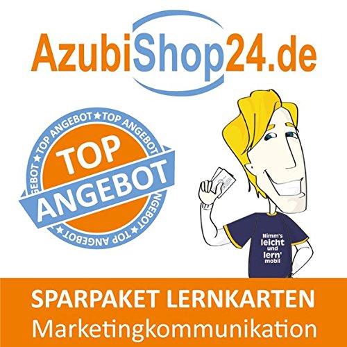Spar-Paket Lernkarten Kaufmann / Kauffrau für Marketingkommunikation: Prüfungsvorbereitung auf die Abschlussprüfung zum Sparpreis