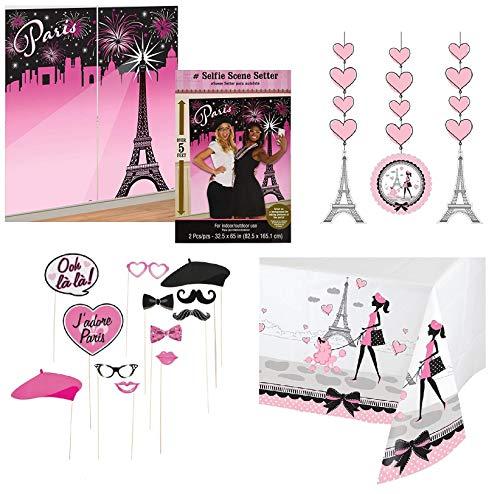Paris, Party-Dekoration, Fotorequisiten, zum Aufhängen, Tischdecke