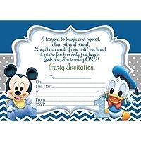 Amazon.es: Mickey Mouse - Invitaciones / Artículos de
