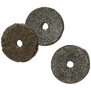 Rondelle feutre bitumé - Diamètre Extérieur : 20 mm - Intérieur : 4 mm - Vendu par 100