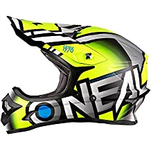 35a7826be942d 0623-623 - Oneal 3 Series Radium Motocross Helmet M Matt Hi-Viz Gray