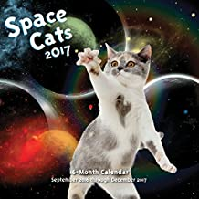 Space Cats 2017: 16-Month Calendar September 2016 through December 2017 (Calendars 2017)