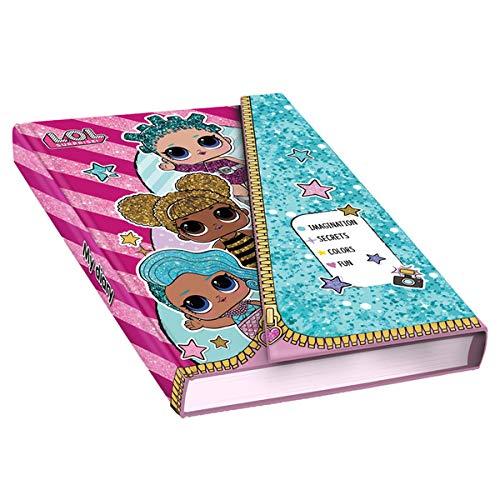 Giochi Preziossi- LOL Surprise Diario Secreto Personalizable, Multicolor (LLG24000)