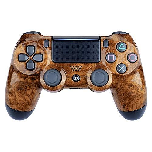 Controller Monkeys - PS4 Oberschale für JDM-040 /-041 /-030 /-050 /-055 Controller - Glänzend Chrom (Hard Wood) Sony Hard-faceplates