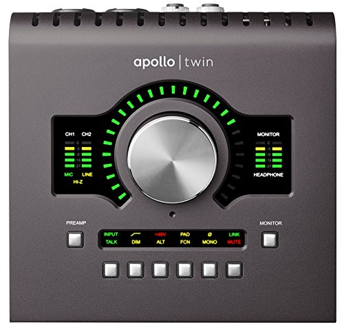 Apollo Twin MKII Quad Thunderbolt Audio Interface