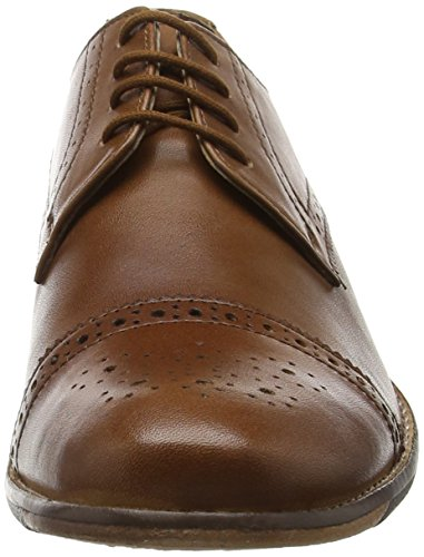 Lotus Hargreaves, Brogues homme Marron - Brown (Tan Burnished)