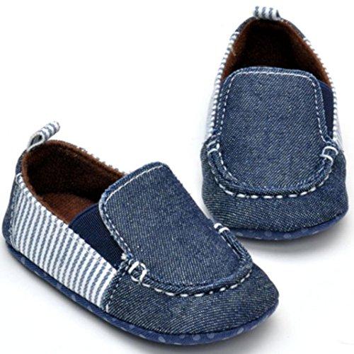 Kleinkind Wanderer ersten Cowboy Amlaiworld Boy Babyschuhe weichen Baby Schuhe Boden Schwarz axwCIPwHqX