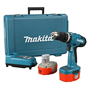 makita 8391dwpe 18v combi drill with 2 x 1 3ah ni cad batteries and charger diy. Black Bedroom Furniture Sets. Home Design Ideas