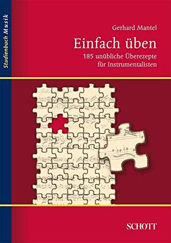 Einfach-ben-185-unbliche-berezepte-fr-Instrumentalisten-Studienbuch-Musik
