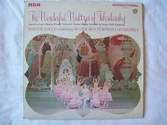 INTS 1031 Tchaikovsky Waltzes CSO Morton Gould LP
