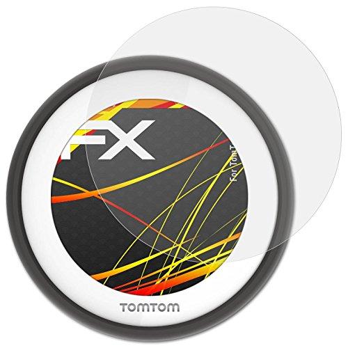 atFoliX Schutzfolie kompatibel mit Tomtom VIO Displayschutzfolie, HD-Entspiegelung FX Folie (3X)