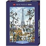 Cartoon Puzzle Eiffel Tower 1000 Teile (KV&H Verlag)