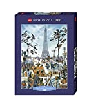 Heye 29358 - Standardpuzzles 1000 Teile Eiffel Tower, Jean Jaques Loup