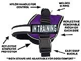 Service Hundegeschirr Weste Cool Comfort Nylon für Hunde kleine mittlere Große Umfang, Kauf kommt mit 2in Reflektierende Patches. Bitte Messen Sie Hund vor Bestellung, Girth 19-25