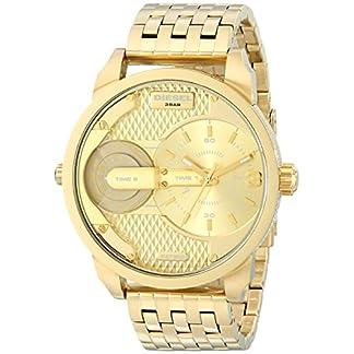 Diesel  DZ7306 – Reloj de cuarzo para hombre, con correa de acero inoxidable, color dorado