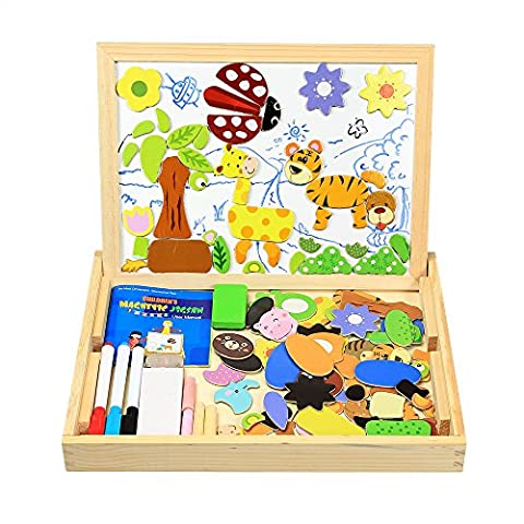 InnooBaby Magnetic Jigsaw Puzzles 100 Pieces Educational