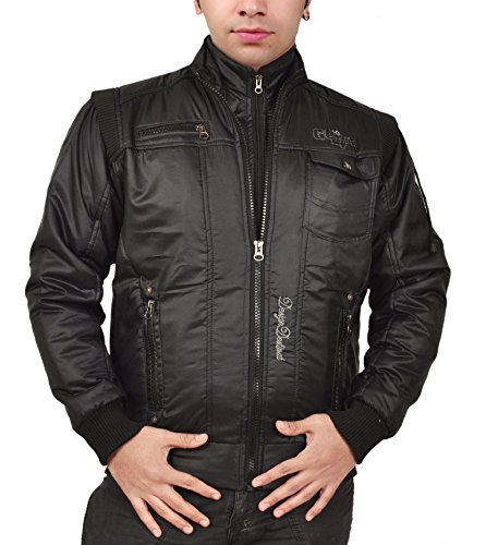 Ico Blue Stor Men's Jacket (221177_Black_42)