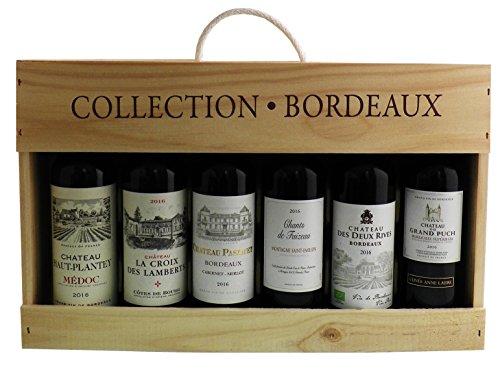 CDF Chateau Bordeaux Collection Mixed Vintage Wine, 6x37.5 cl Half Bottles