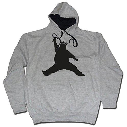 Dibbs Clothing Herren T-Shirt schwarz schwarz Grau