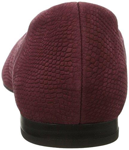 Caprice22100 - Ballerine Donna Rosso (Bordeaux Snake)