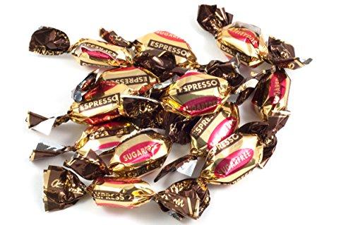 Espresso Bonbons ohne Zucker - im schönen 100g Beutel - Deine Naschbox.