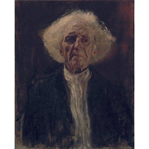 Niik Stampa Il cieco di Gustav Klimt 120 x 96 cm Falso d'autore su Tela