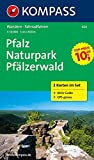 Pfalz - Naturpark Pfälzerwald: Wanderkarten-Set mit Radrotuen und Aktiv Guide in der Schutzhülle. GPS-genau. 1:50000 (KOMPASS-Wanderkarten, Band 826)