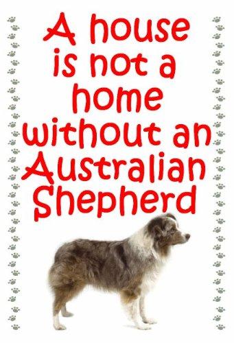 Australian Shepherd Dog-Portachiavi a forma di casetta