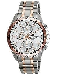 Casio Edifice Chronograph White Dial Men's Watch - EFR-546SG-7AVUDF (EX237)