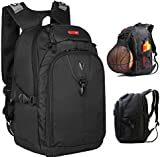 Victoriatourist V6020 Expandable Laptop Backpack with Ipad / Surface Sleeve Fits Macbook Pro / Most 16 Inch Laptops, Black