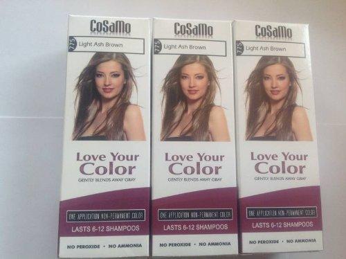 cosamo – Love votre assortiment de l'Ammoniaque et sans peroxyde cheveux couleur 3
