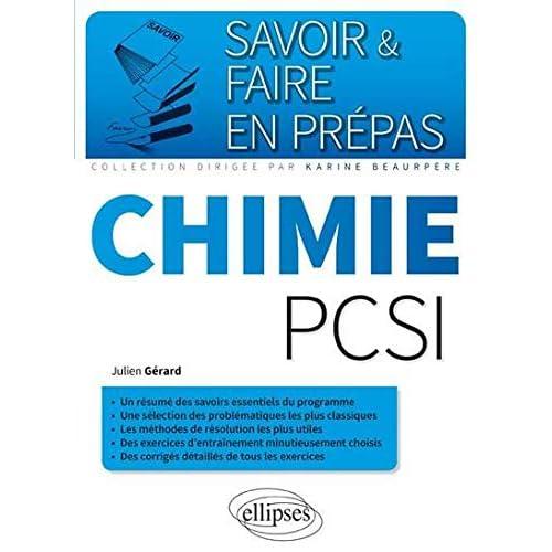 Savoir & Faire en Prépas Chimie PCSI