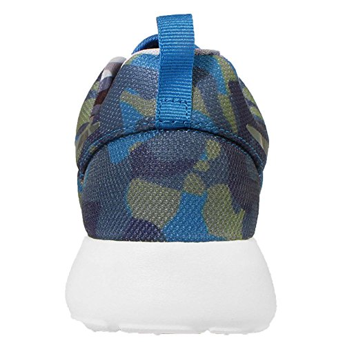 Nike - Wmns Roshe One Print, Scarpe sportive Donna Blu