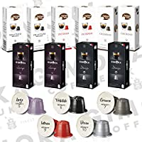 Gimoka offre una gamma di 6 miscele di capsule compatibili Nespresso, tutte con un ricco profilo aromatico. La compatibilità è certificata da un ente indipendente per garantirti un'ottima funzionalità. Miscela di caffè DECISO: Forte, pieno ed...