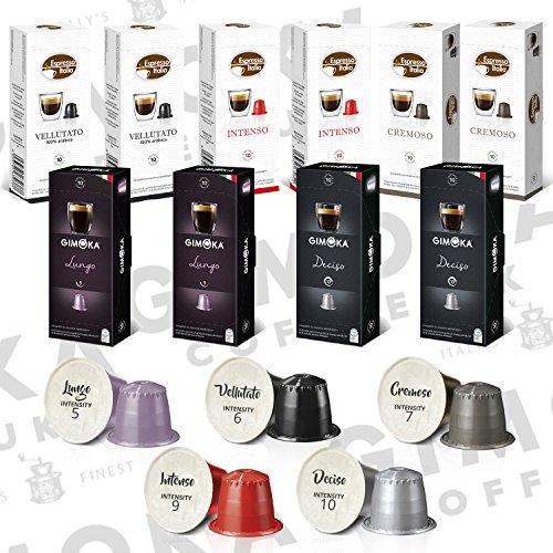 100 capsules de café compatibles Nespresso (Variété)