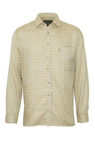 Champion Country Clothing Herren Freizeit-Hemd Stone